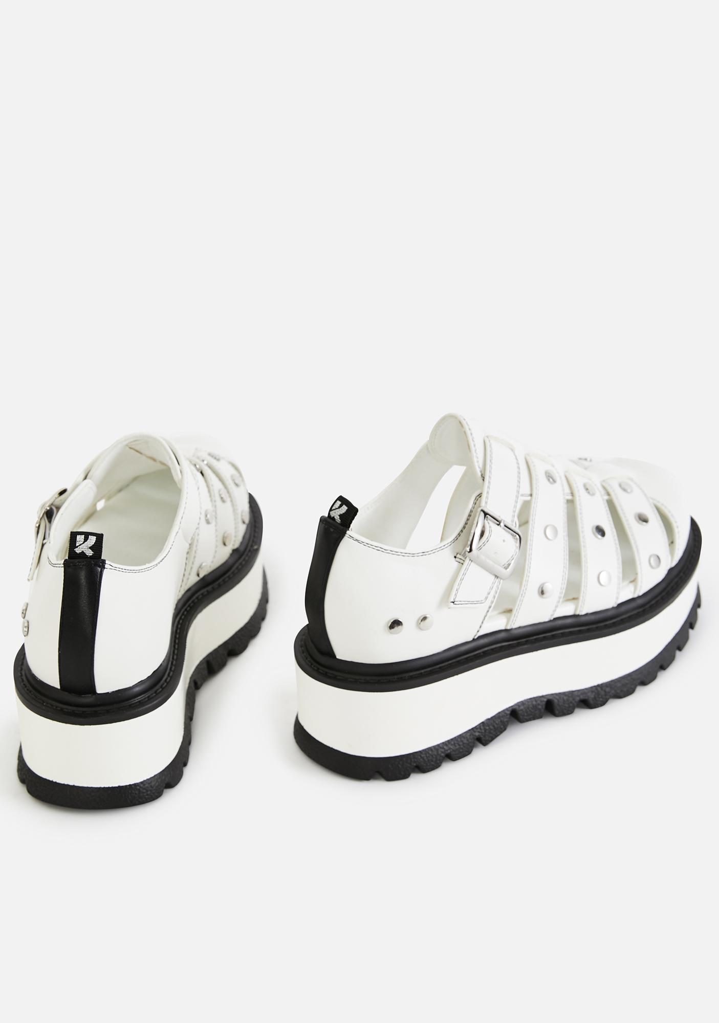 Koi Footwear Relay Platform Sandals