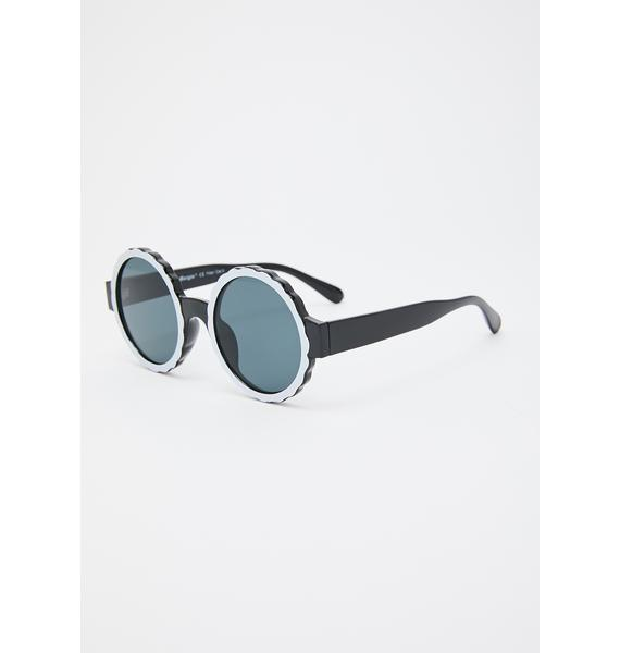 Too Cool Round Sunglasses