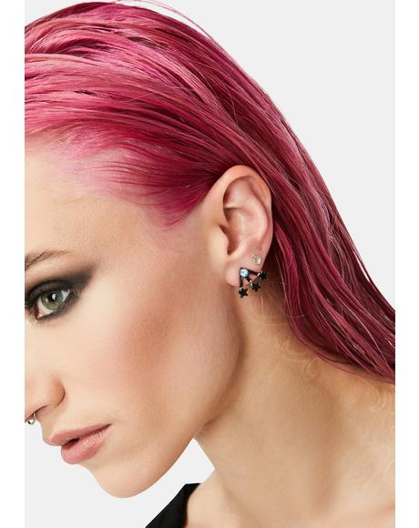In My Orbit Planet Stud Earring Set