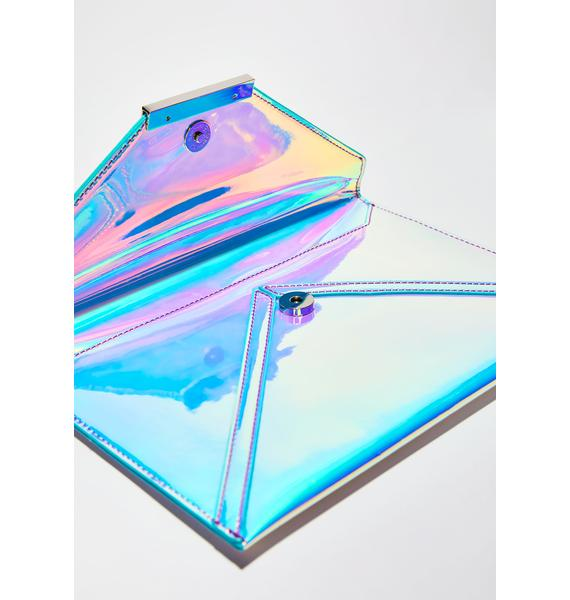 Next Dimension Holographic Clutch