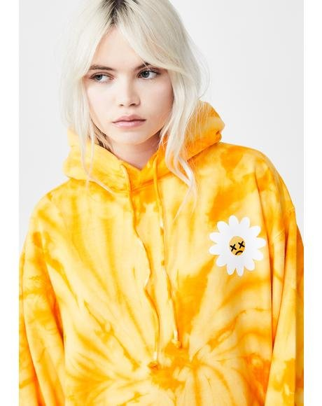 Cry Daisy Tie Dye Hoodie
