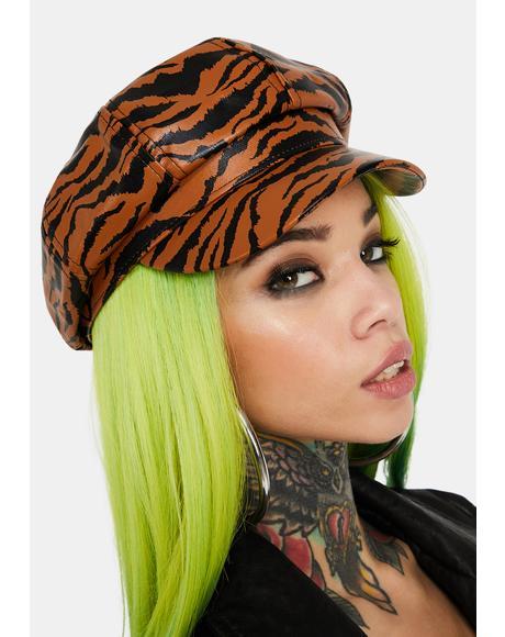 Wild Tiger Biker Hat