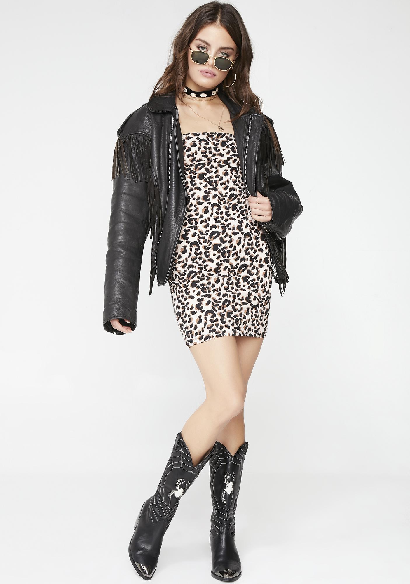 Motel Pink Panther Selah Dress