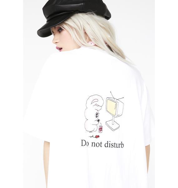 Lazy Oaf Bunny Globe T-Shirt