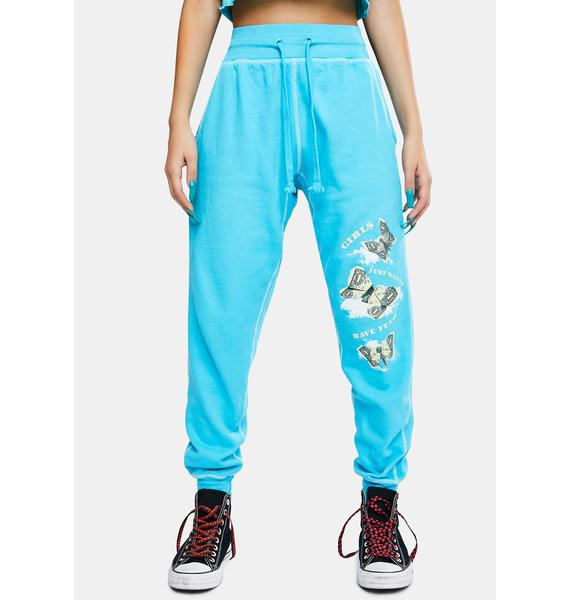 Dreamboy Girls Just Wanna Have Funds Sweatpants