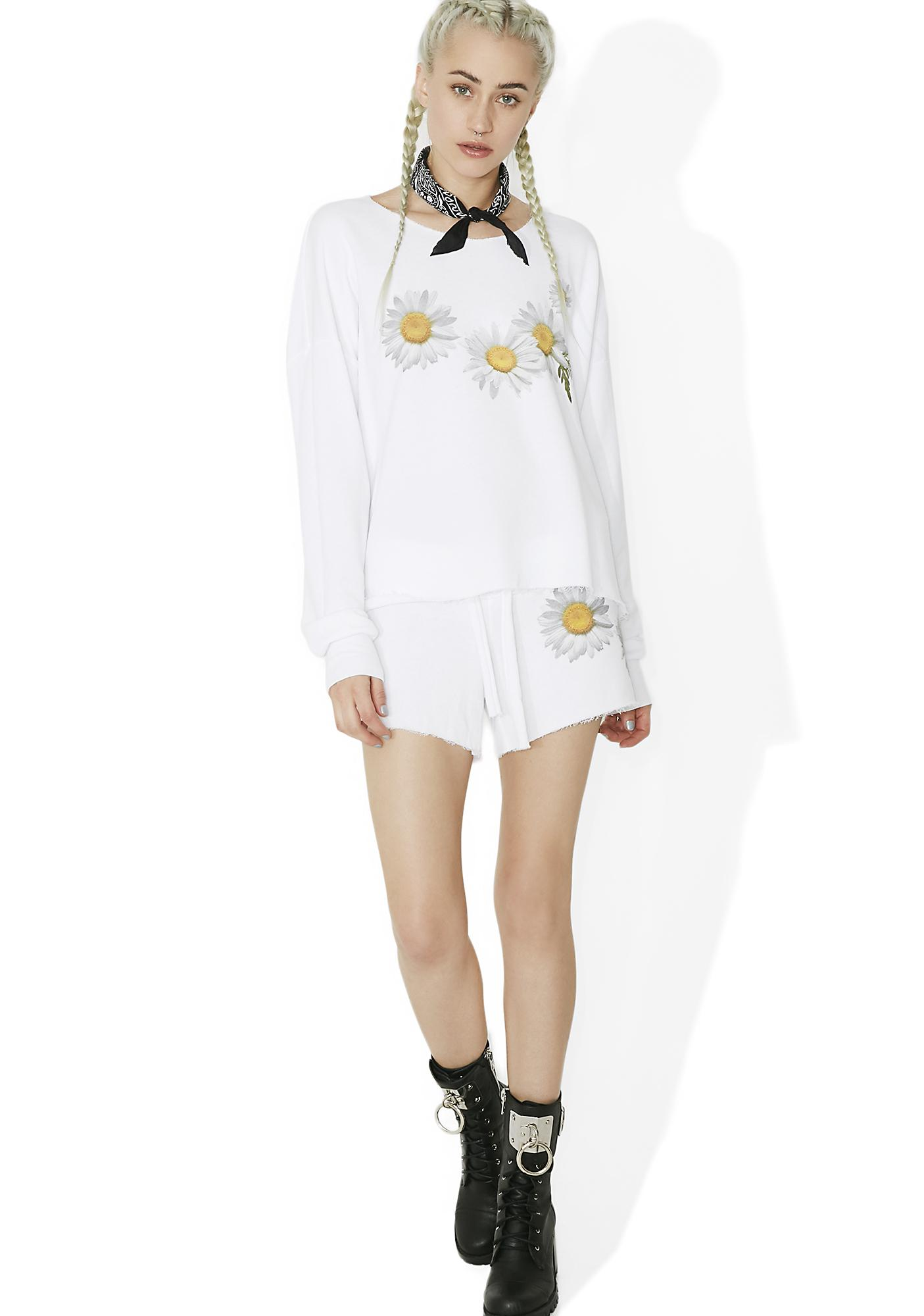 Wildfox Couture Fresh As A Daisy Cutie Shorts