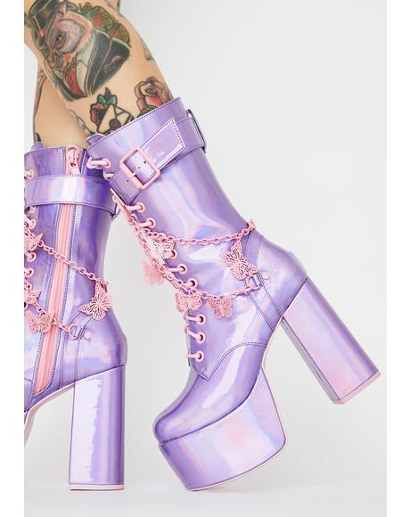Magic Solstice Platform Boots