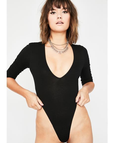 Slay Day High Cut Bodysuit