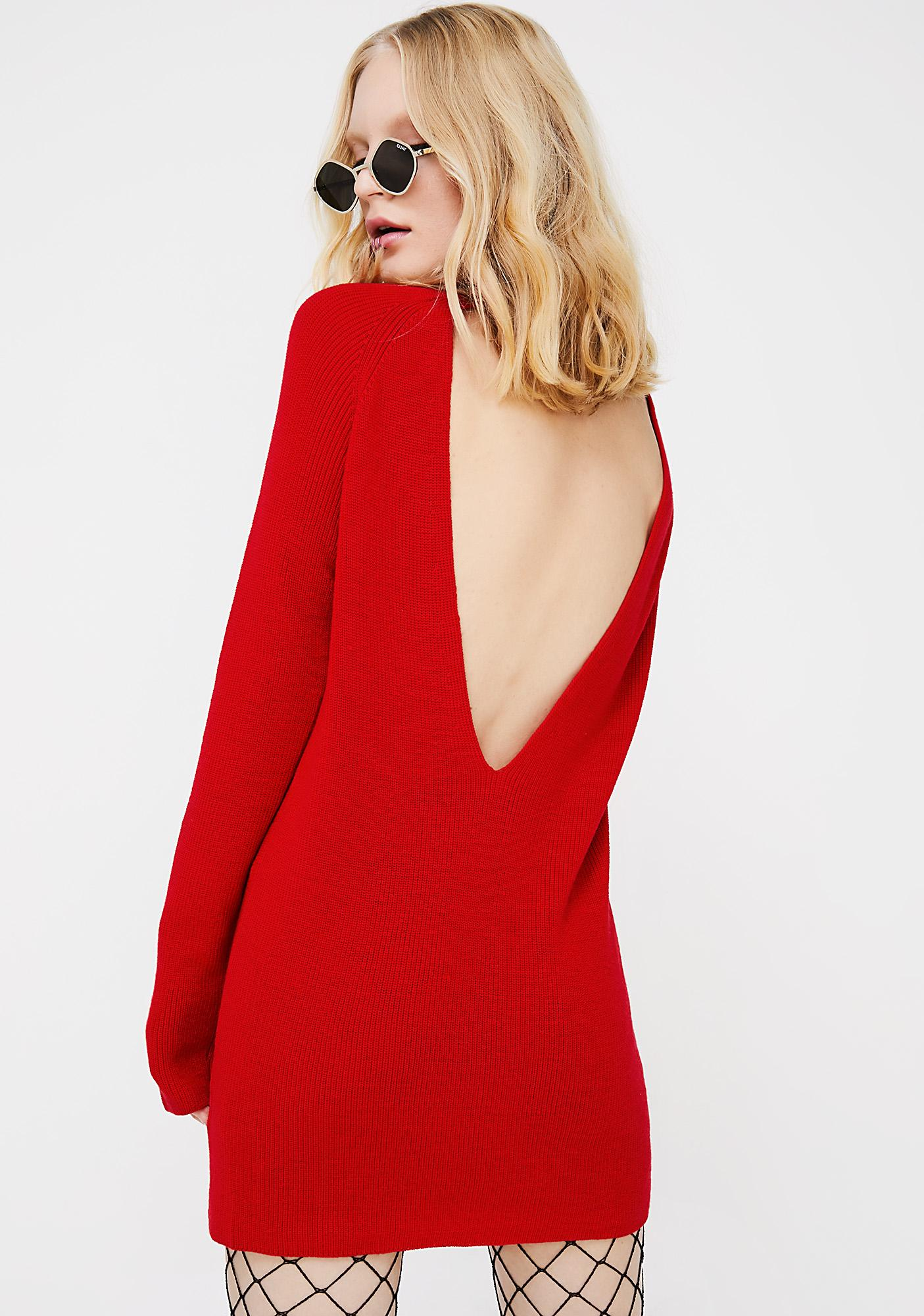 On Fuego Sweater Dress
