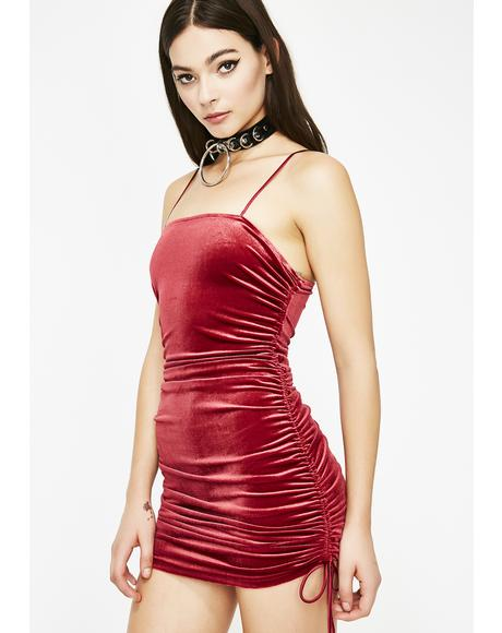 Lit Big Spender Mini Dress