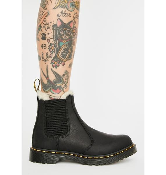 Dr. Martens Fur-Lined 2976 Leonore Wyoming Boots