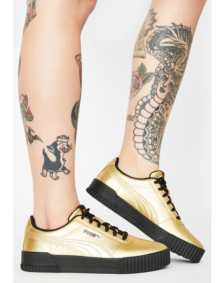 Carina Metallic Sneakers