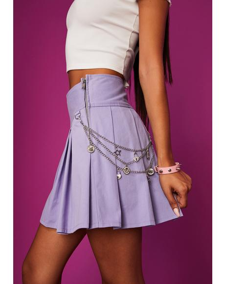 Unleash Your Passion Pleated Skirt