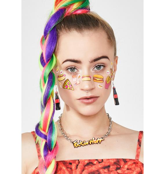 Xxxtra Flamin' Chain Necklace