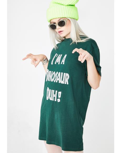 I'm A Dinosaur Graphic Tee