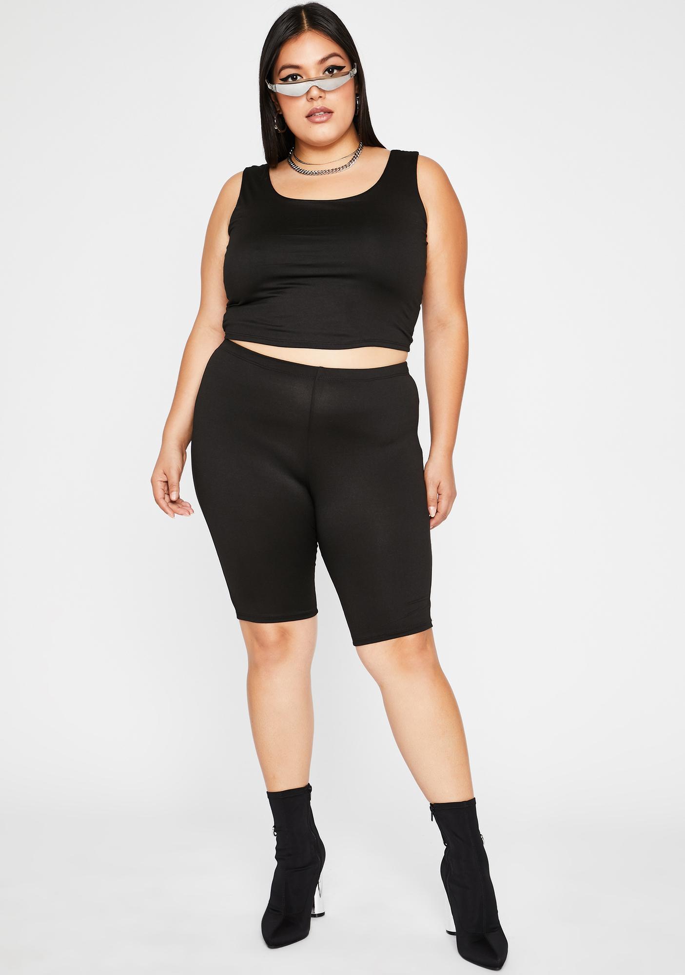 She's Runnin' Shizz Shorts Set