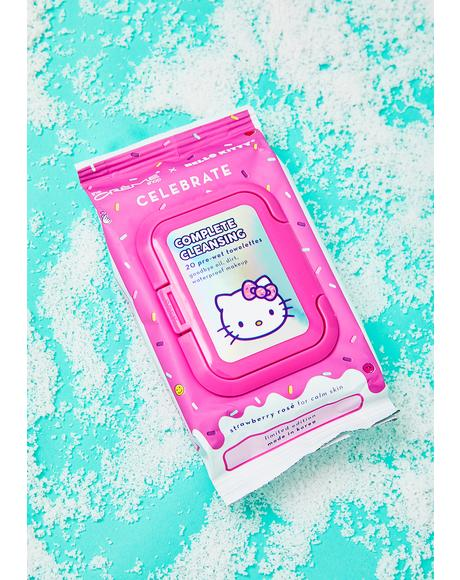 Hello Kitty Complete Cleansing Towelettes