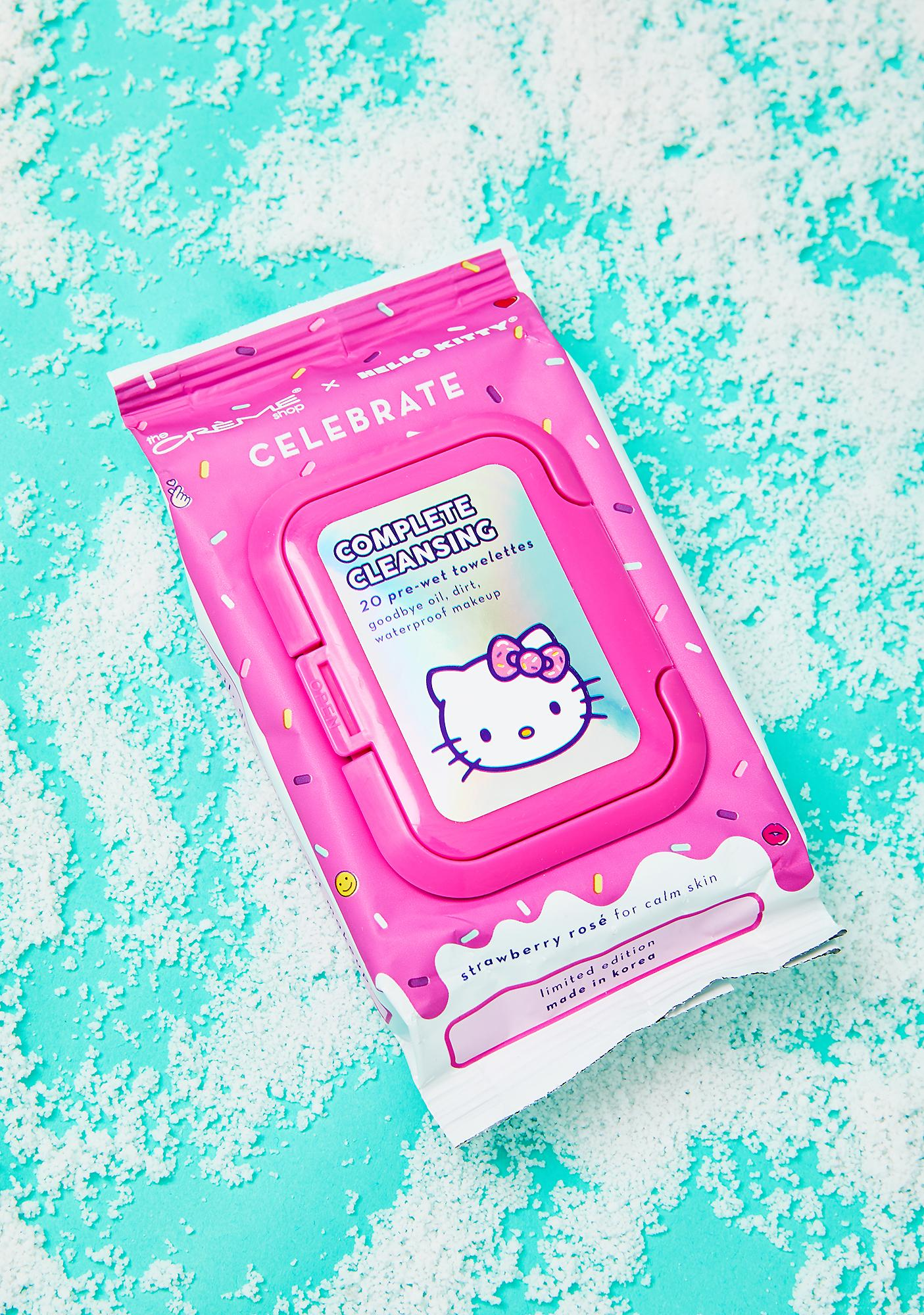 Hello Kitty Complete Cleansing Towelettes by The Crème Shop