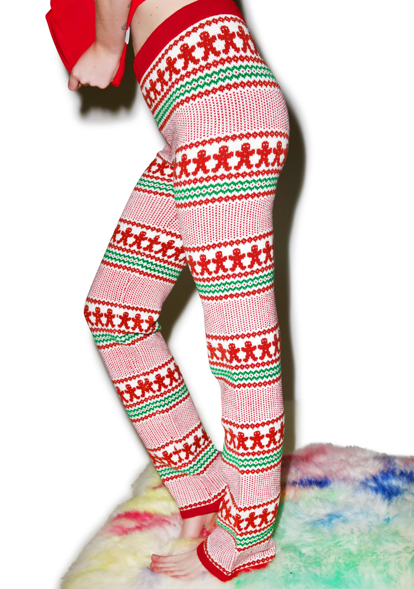 Knitty Kitty Gingerbread Pants