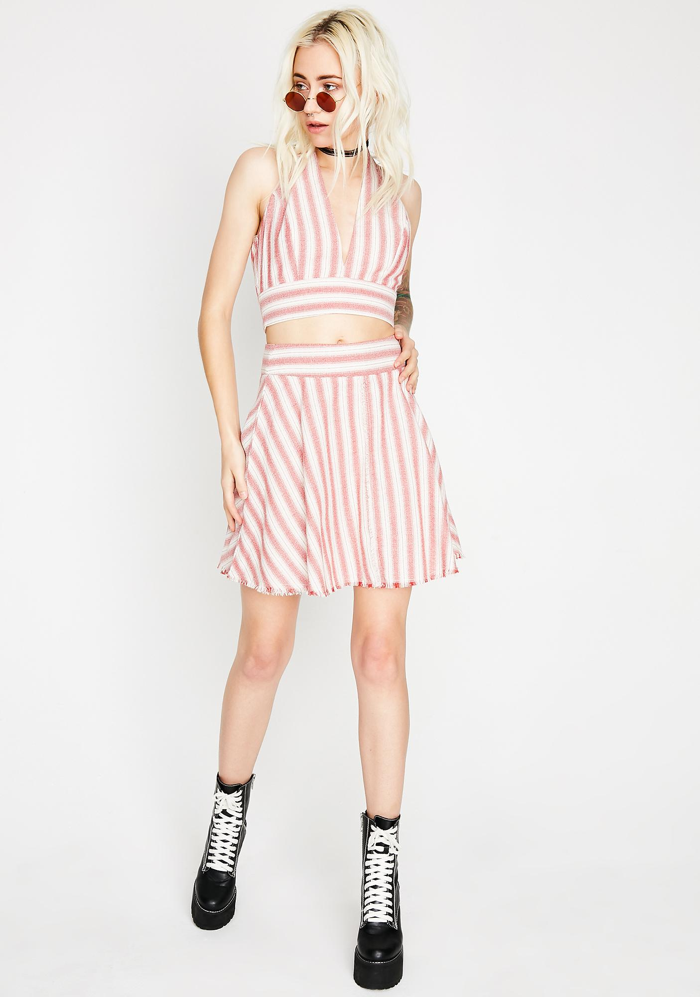 Love Heals Stripe Top