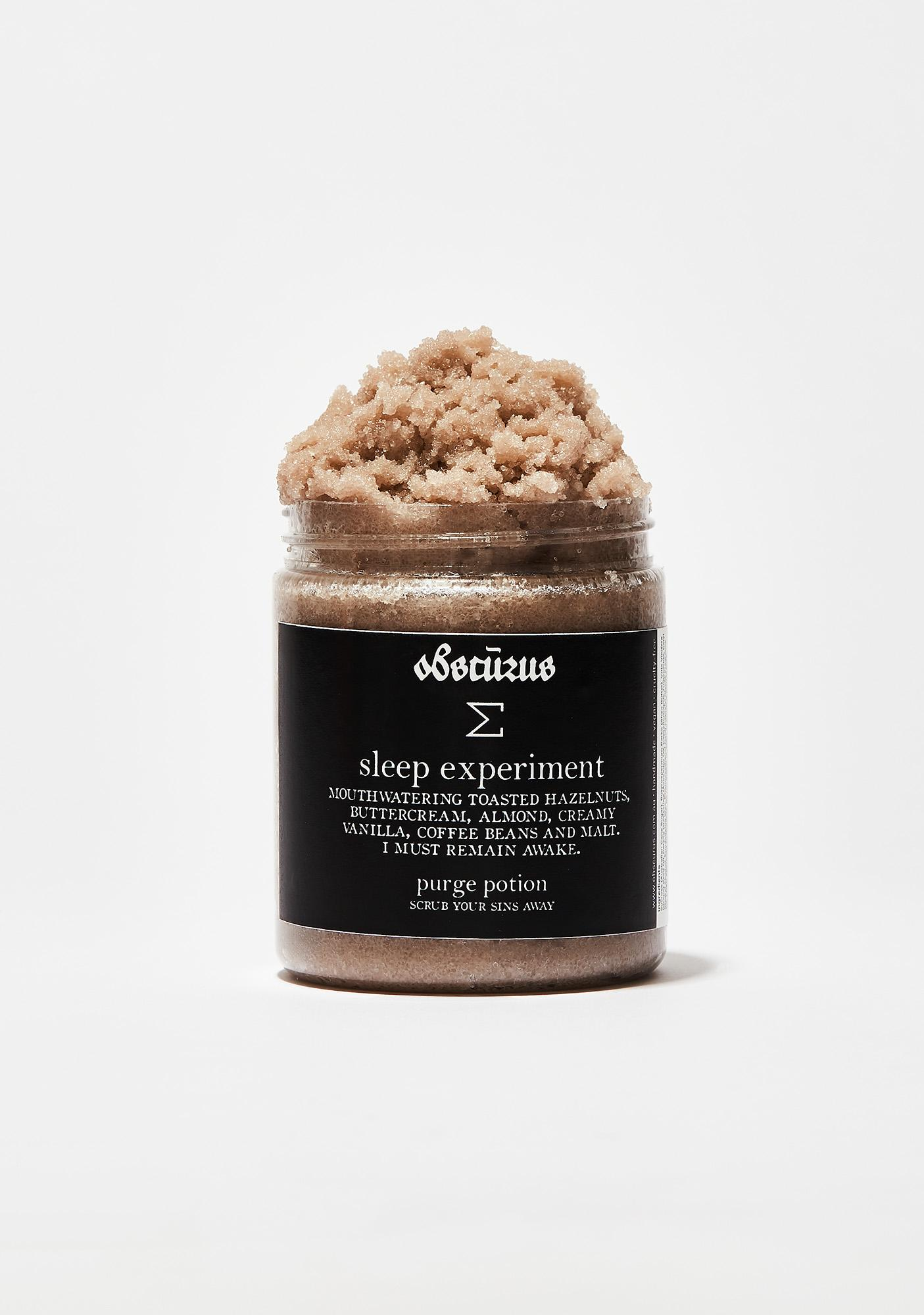 Obscurus Sleep Experiment Purge Potion
