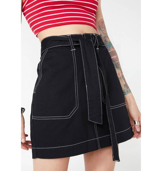 Dickies Girl Dark Utility Skirt