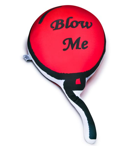 O Mighty Blow Me Balloon Pillow
