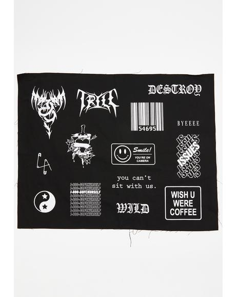 Korupt Krew Patch Set