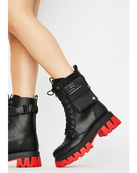 Banshee Combat Boots