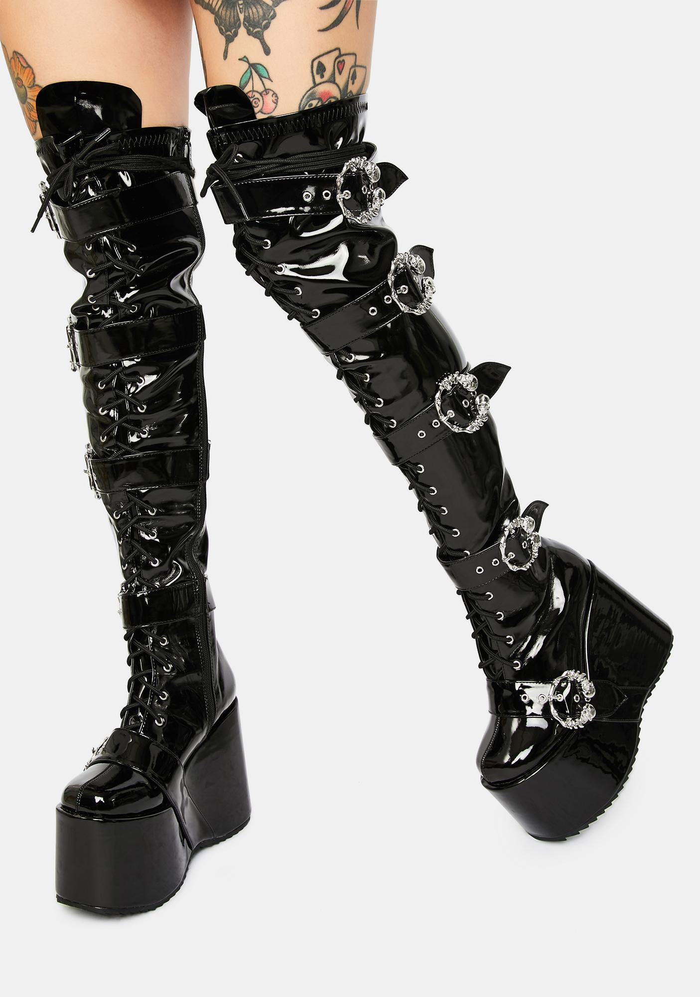 Chance At Romance Knee High Boots