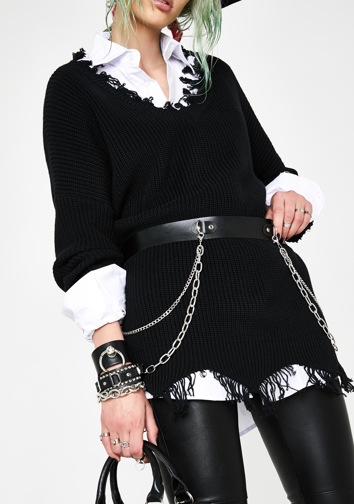 Get Rowdy Chained Belt