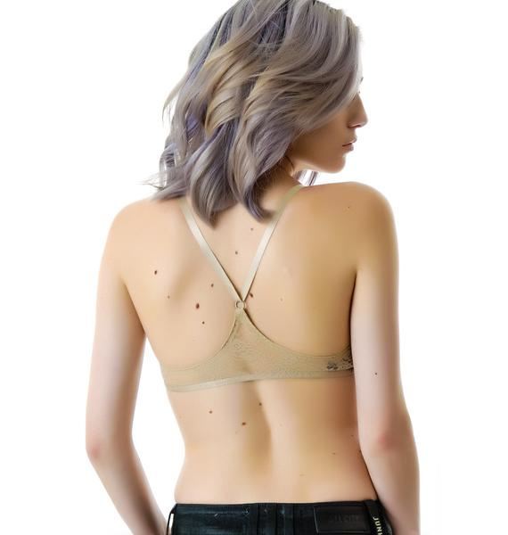 Cheap Monday Lace Racer Back Bra