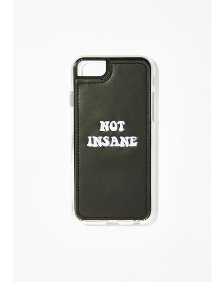 Insane Embroidered iPhone Case