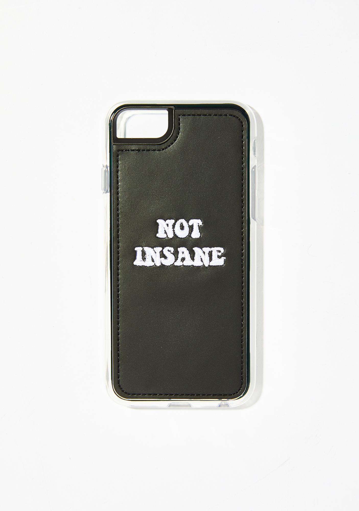 Zero Gravity Insane Embroidered iPhone Case