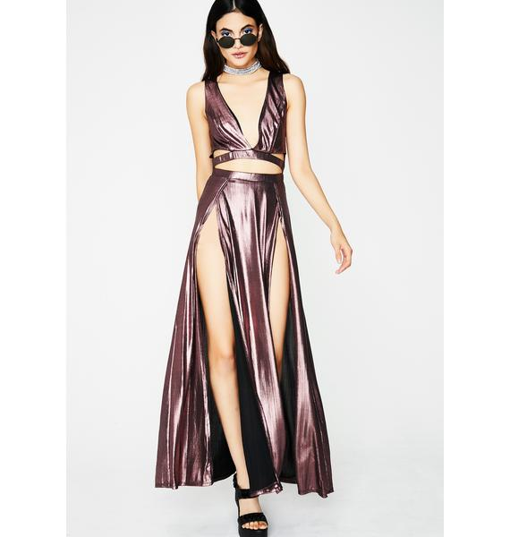 Can't Be Caught Maxi Dress