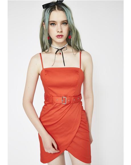 Not Playin' Games Mini Dress