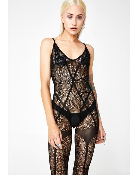 Lovesick Habitz Lace Bodystocking