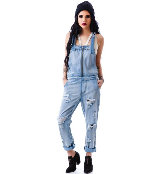 Evil Twin Simple Life Boyfriend Overalls