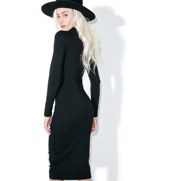 Iron Fist Wishbone Midi Dress
