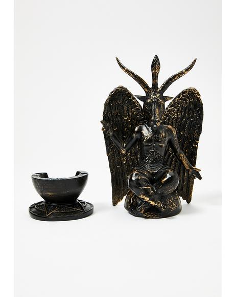 Baphomet Incense Burner
