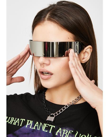 Warped Energy Shield Sunglasses