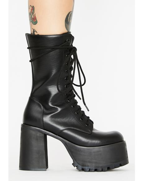 Step It Up Platform Boots