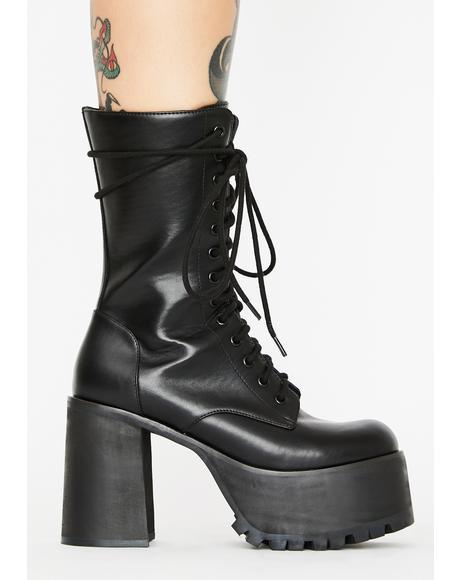 Step It Up Platform Boots