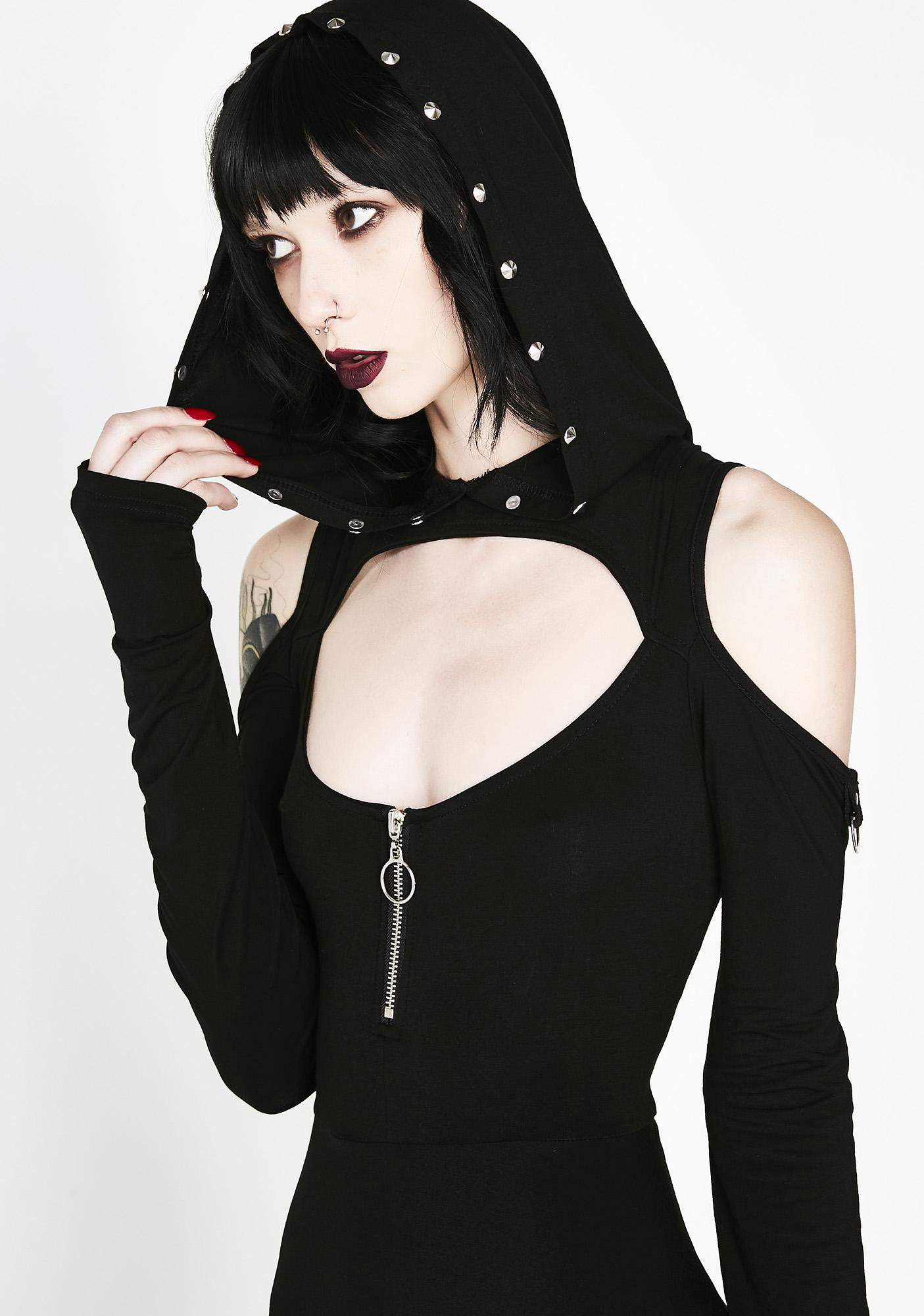 Killstar Spirit Walker Hood Dress