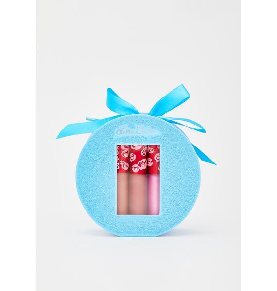 Lime Crime Sugar Daze 3 Piece Mini Velvetines Lipstick Set