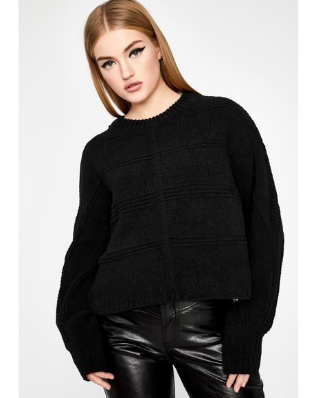 So About It Cropped Sweater