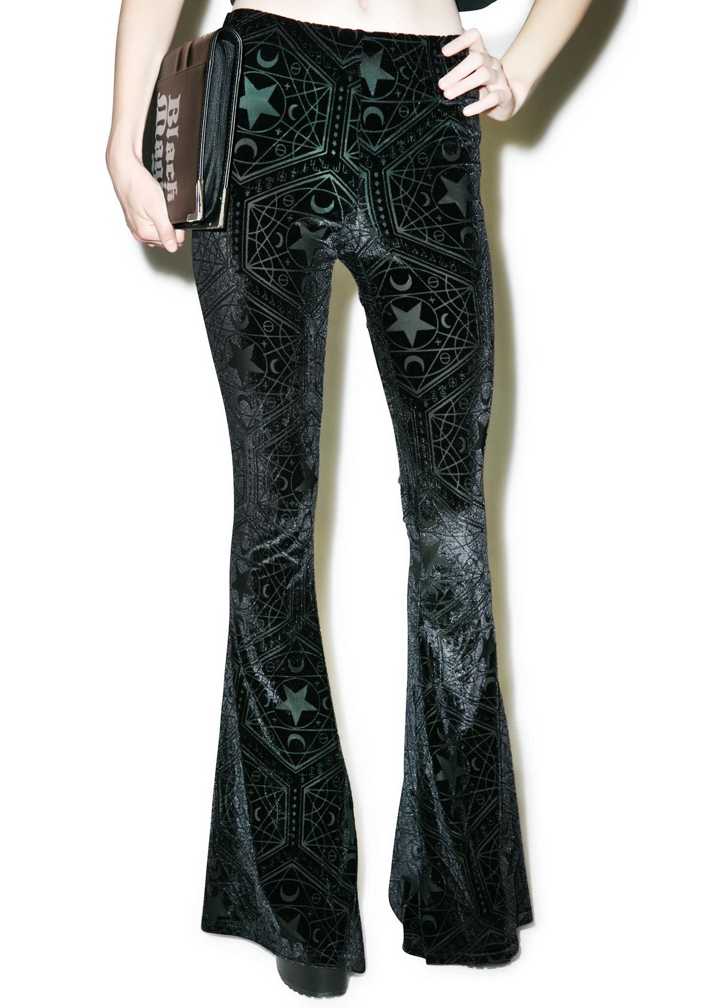 Killstar Stargazer Bell Bottoms