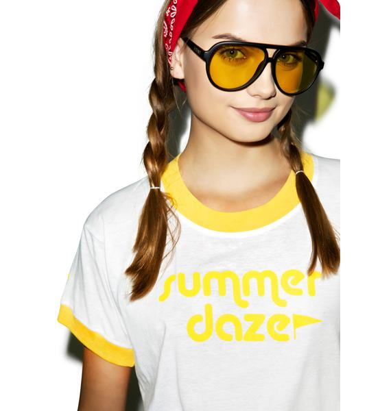 Camp Collection Summer Daze Ringer Tee