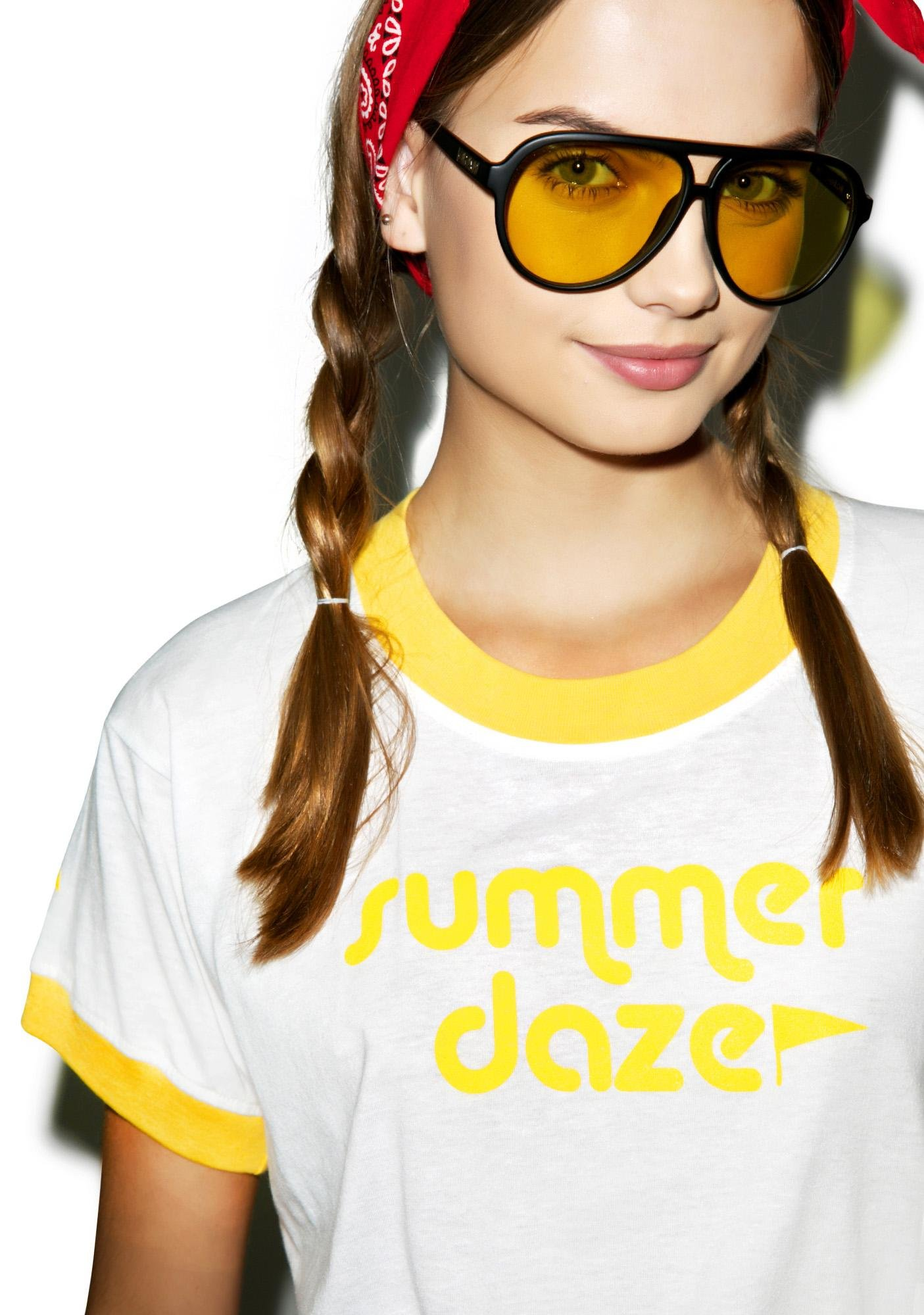 Camp Collection Summer Daze Ringer Tee