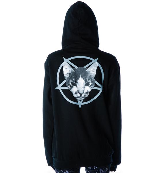 Metal Cat Hoodie